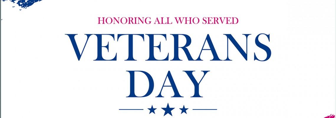 Happy Veterans Day 2019